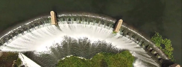 Cradle Moon Dam Wall