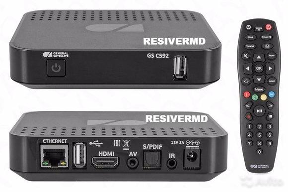 Цифровой IP приемник GS C592 (Триколор ТВ на втором телевизоре)