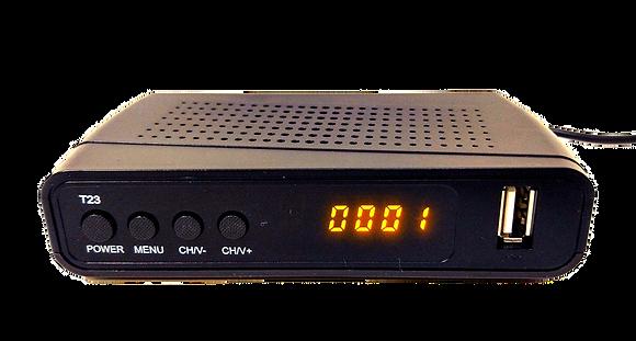 Цифровой эфирный ресивер DVB-T2/C - T23