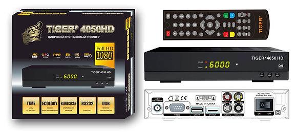 Спутниковый ресивер с поддержкой формата MPEG4 (HD) - Tiger 4100hd