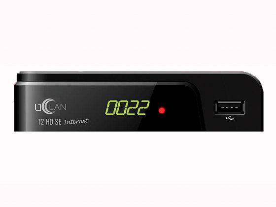 Цифровой эфирный ресивер uClan T2 HD SE Internet