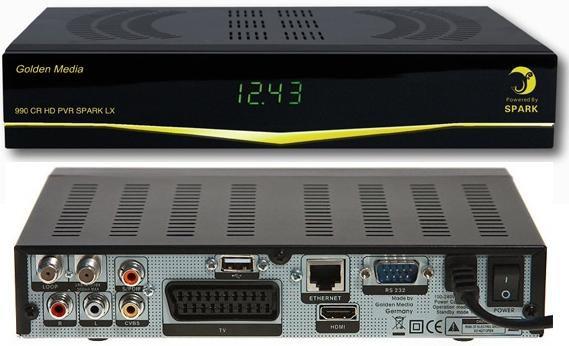 Спутниковый ресивер Golden Media 990 .
