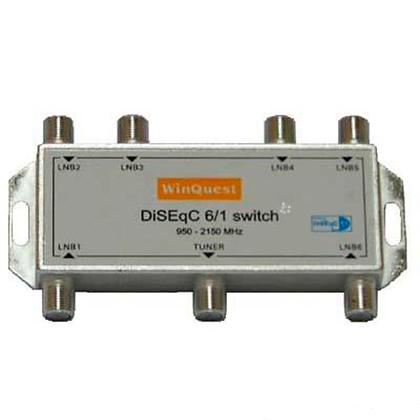 DiSEqC 6x1 WinQuest GD-61A