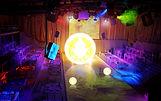 Iluminação, sonorização, box truss
