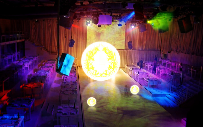 Event Lighting on stage, event organising company