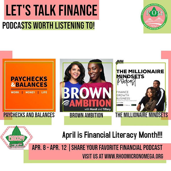 Financial Podcasts - Financial Literacy