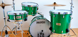 GREEN CONICAL DRUM SET