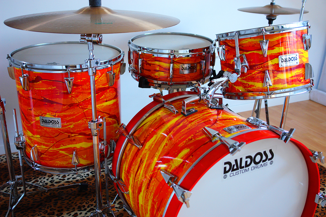 mod drum set | daldossdrums.it
