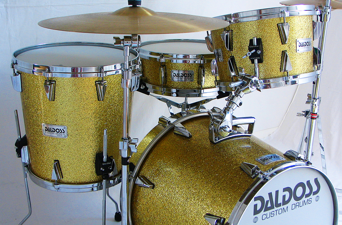 GOLD CONICAL SET  | daldossdrums.it