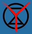 Extinction Rebellion Youth Surrey logo
