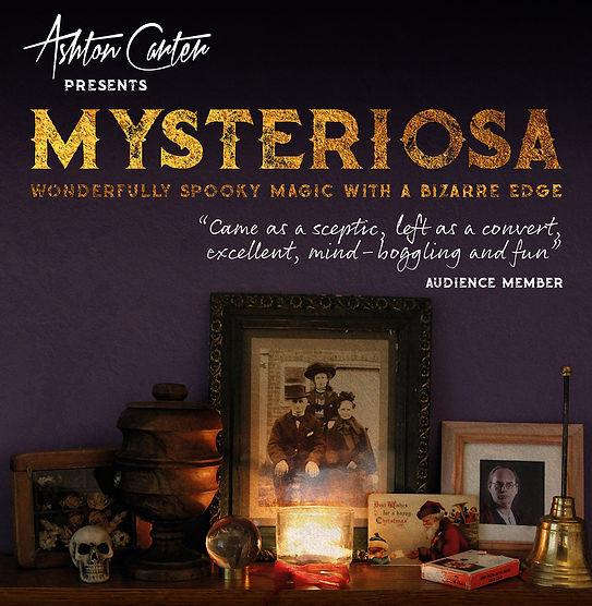 Mysteriosa Poster Advert