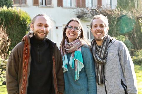 Guillaume, Nathalie et Alan
