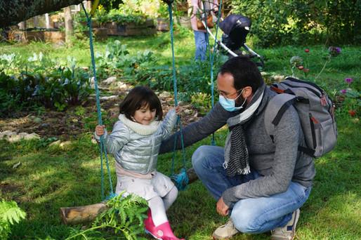 Visites du jardin en permaculture
