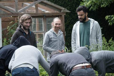 Stage en permaculture avec Guillaume