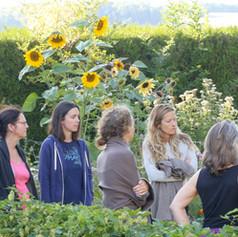 Une visite du jardin