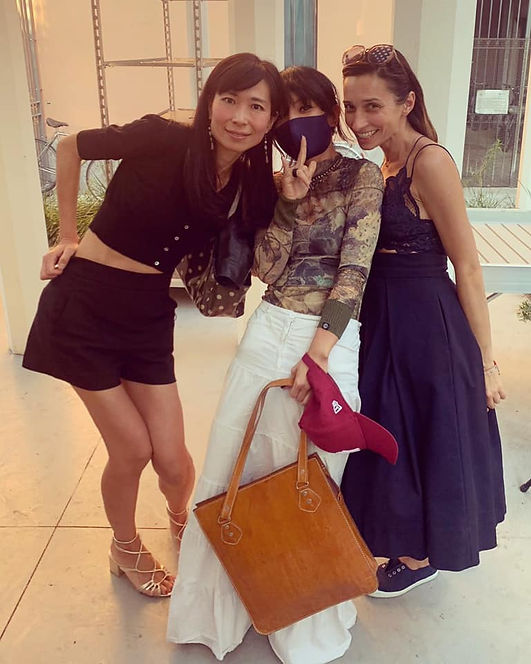 Tomoko, Liw Volpini e Marta Mez.jpg