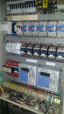 Armoire électrique chaufferie