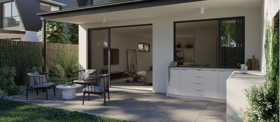 Arabella Exterior Courtyard - The Isabel