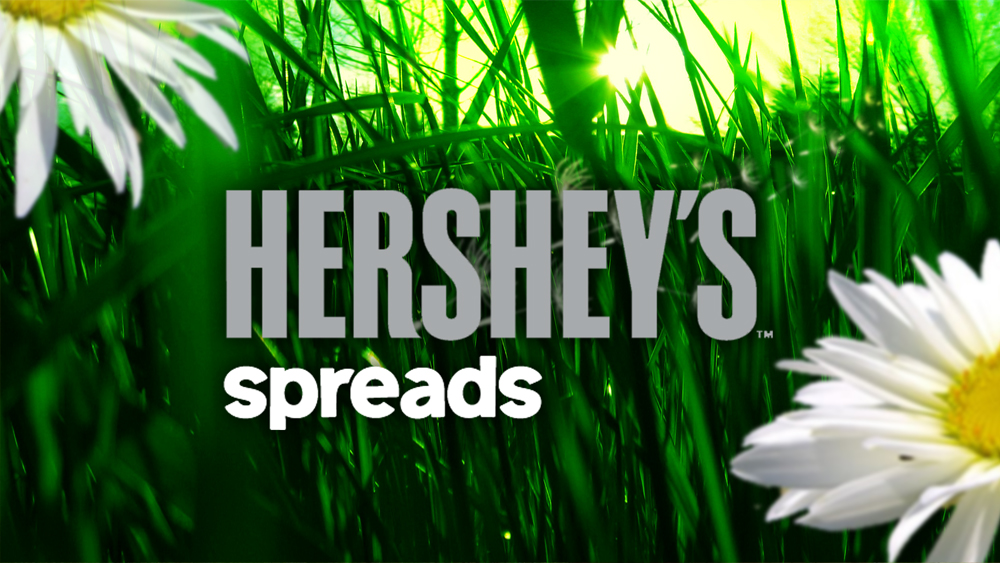 HERSHEY'S spreads . End title