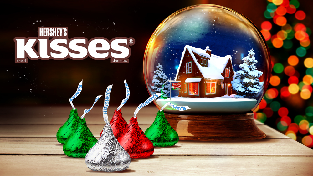 HERSHEY'S . kisses