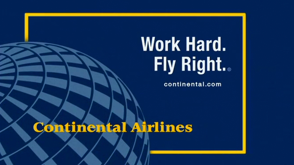 CONTINENTAL AIRLINES . Title page