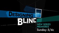 DESIGNING BLIND . Title page