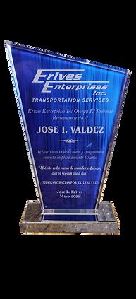 Jose I valdez Award.png