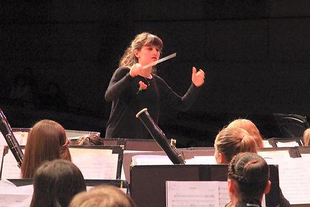 Julia Maloof conducting debut