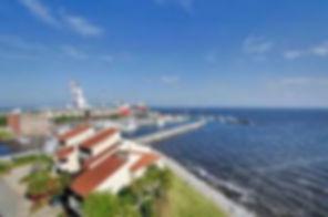 Port Royal townhomes overlooking Pensacola Bay