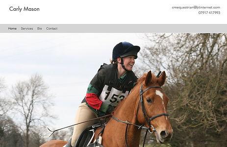 Carly Mason - Equestrian Coach