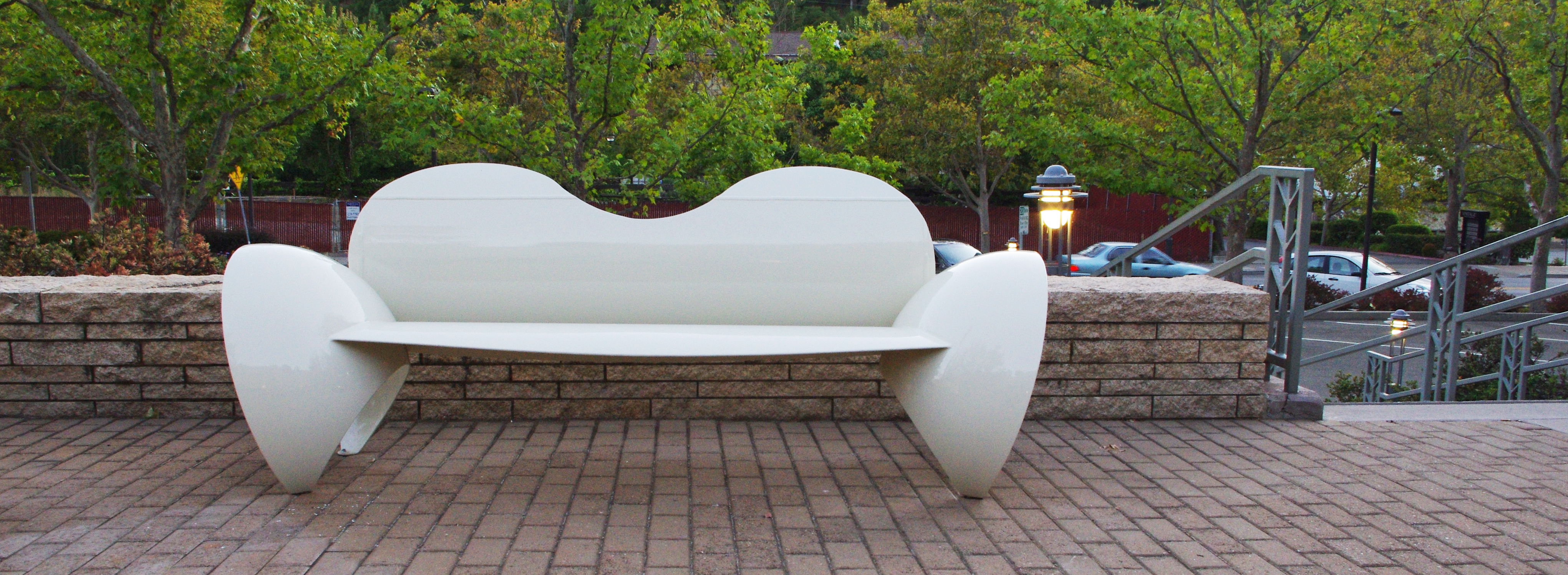 Low Back Bubble Bench