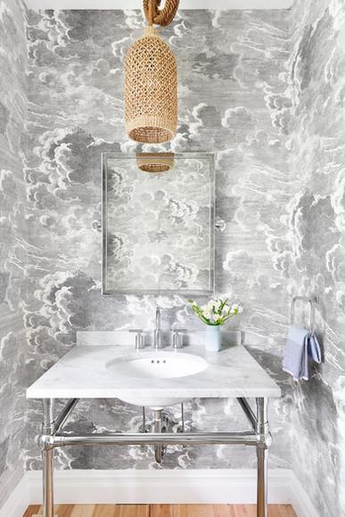 hamptons bathroom interior design