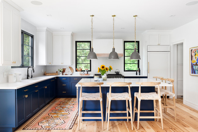 hamptons kitchen designs
