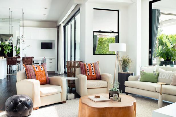 upscale interior renovation in california