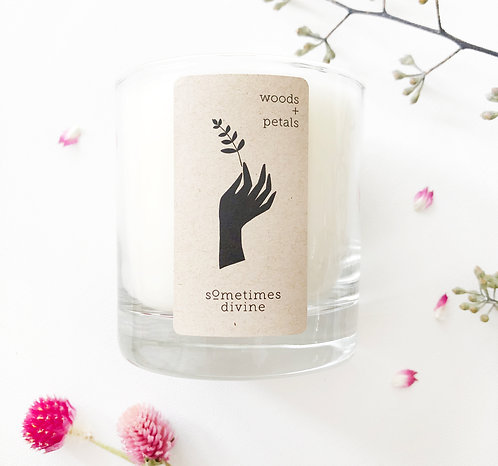 Woods + Petals Soy Candle