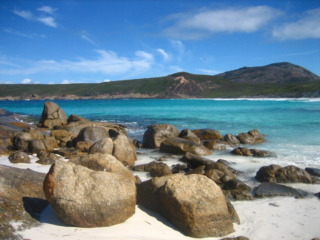 The beautiful Lucky Bay