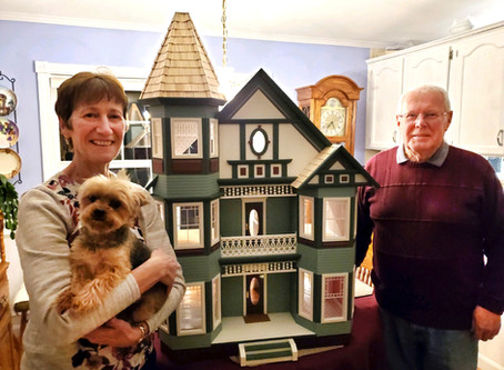 Exquisite Victorian Doll House Raffle