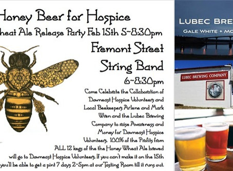 Honey Beer for Hospice - Don't miss you chance for a taste while it's still available!