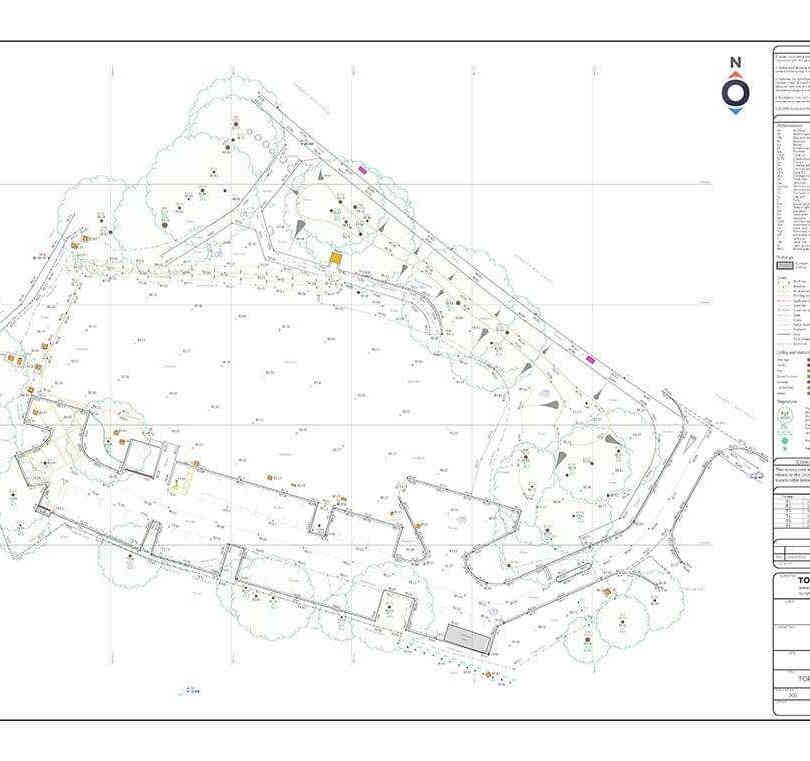 Topographical survey ( completed in 3 years) 28Km of overhead line 'OHL' for PDO sites 95km of pipeline for PDO sites