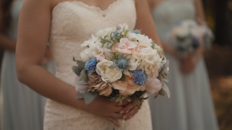 Joshua & Jenn - Bridesmaid Flowers