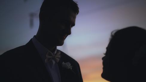 Lindsay & Jeff - Sunset Smiles