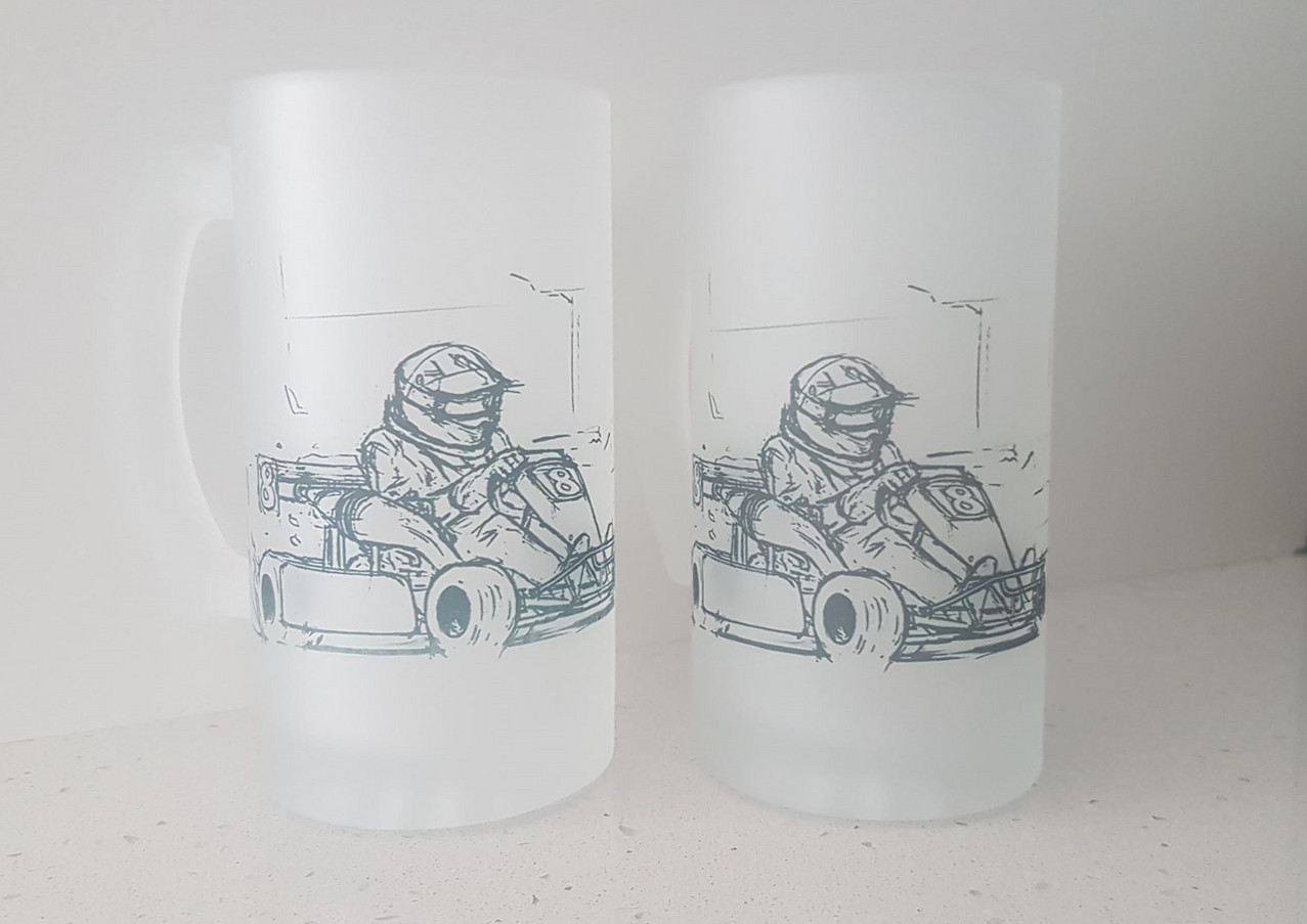 Custom Frosted Glass