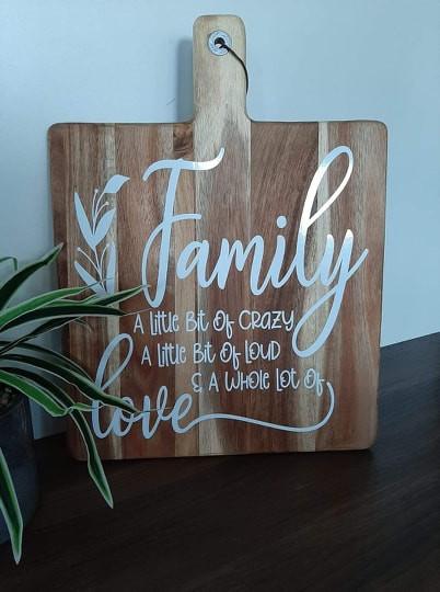 Custom Wooden Paddle Board
