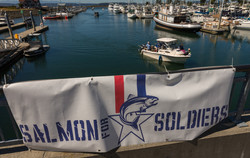 Banner over Boats