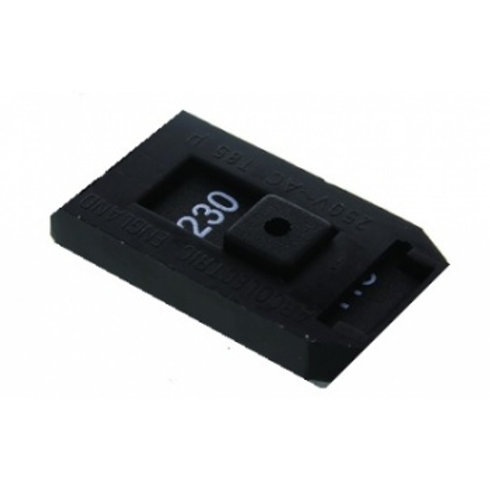 Dual voltage switch for 115/230 Volt