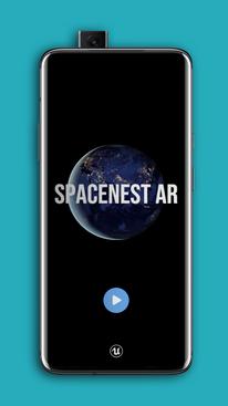 SpaceNest AR - Free Educational AR App