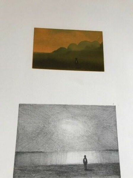 SAUL STEINBERG - SILKSCREEN - STONE LITHO - COPPER PLATE ETCHING - SGND & DES.