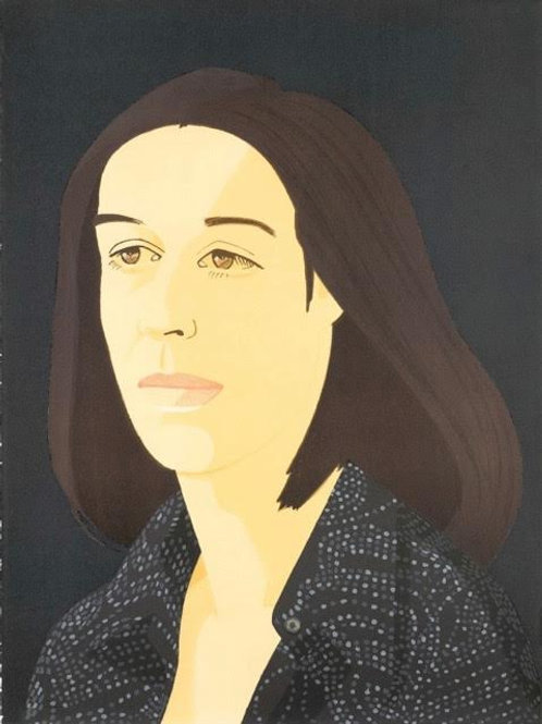 Alex Katz Ada Four Times #3 Signed & Designated