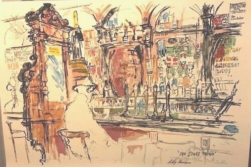 LEROY NEIMAN ` STAGS HEAD ` DUBLIN BAR SALE FOR A SHORT TIME ONLY. LOW PRICE