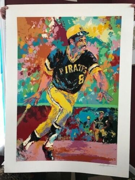 LeRoy Neiman Willie Stargell Original Limited edition signed & Designated
